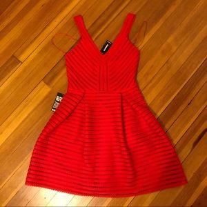 CUTE Express Cocktail Dress Mini Skirt